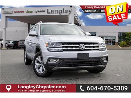 2019 Volkswagen Atlas 3.6 FSI Highline (Stk: LC0000) in Surrey - Image 1 of 23