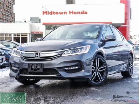 2017 Honda Accord Sport (Stk: P13274) in North York - Image 1 of 28
