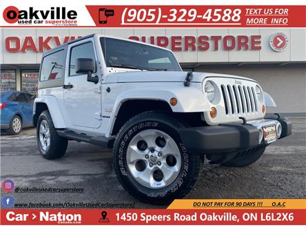2013 Jeep Wrangler SAHARA | AUTOMATIC | HARDTOP | AUX (Stk: P12419A) in Oakville - Image 1 of 17