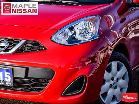 2015 Nissan Micra SV|Bluetooth|Keyless Entry|Power Options|1 Owner (Stk: LM445) in Maple - Image 2 of 21