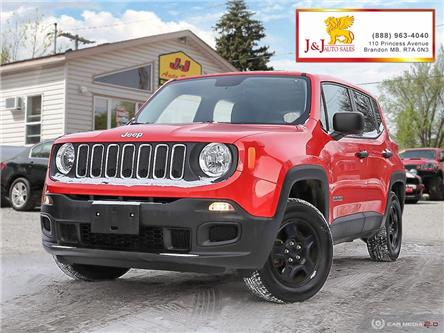 2015 Jeep Renegade Sport (Stk: J19128) in Brandon - Image 1 of 27