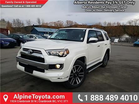 2020 Toyota 4Runner Base (Stk: 5762451) in Cranbrook - Image 1 of 26