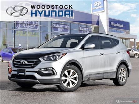 2017 Hyundai Santa Fe Sport 2.4 Luxury (Stk: HD19057A) in Woodstock - Image 1 of 27
