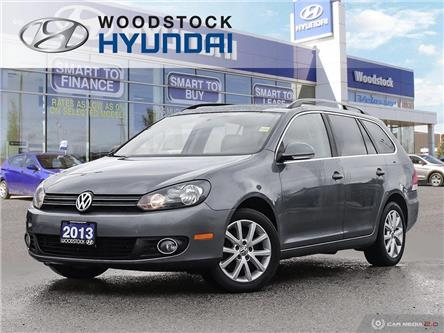 2013 Volkswagen Golf 2.0 TDI Highline (Stk: P1474) in Woodstock - Image 1 of 27