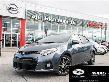 2015 Toyota Corolla S (Stk: RU2801) in Richmond Hill - Image 1 of 22