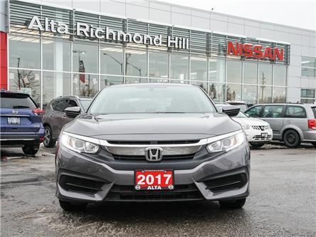 2017 Honda Civic LX (Stk: RU2795) in Richmond Hill - Image 2 of 21