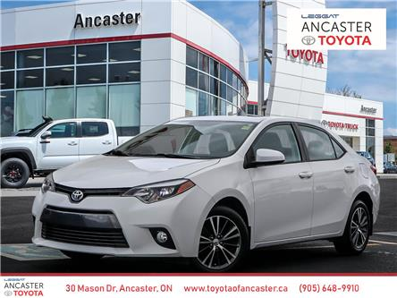 2016 Toyota Corolla  (Stk: 19484A) in Ancaster - Image 1 of 28