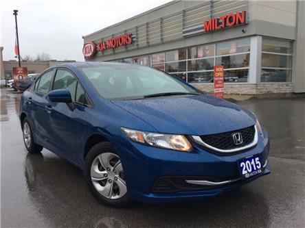 2015 Honda Civic LX (Stk: P0143) in Milton - Image 1 of 17