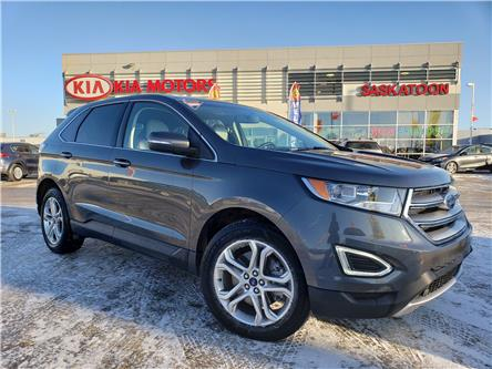 2017 Ford Edge Titanium (Stk: P4627) in Saskatoon - Image 1 of 28