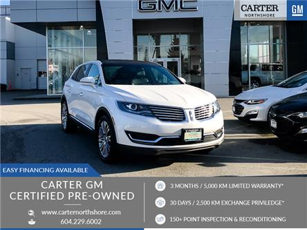 2017 Lincoln MKX Reserve (Stk: 9D06851) in North Vancouver - Image 1 of 28