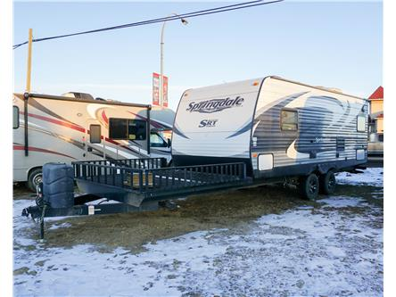 2014 Keystone Springdale Toy Hauler - 21 ft. (Stk: T19-471AA) in Dawson Creek - Image 1 of 7
