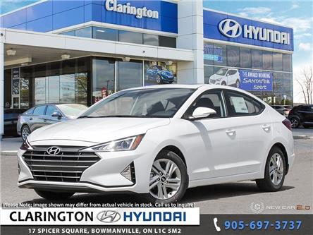 2020 Hyundai Elantra Preferred w/Sun & Safety Package (Stk: 19905) in Clarington - Image 1 of 24