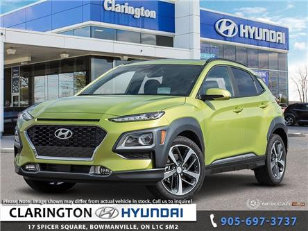 2020 Hyundai Kona 1.6T Ultimate w/Lime Colour Pack (Stk: 19887) in Clarington - Image 1 of 24