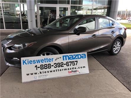 2016 Mazda Mazda3 GS (Stk: U3921) in Kitchener - Image 1 of 30