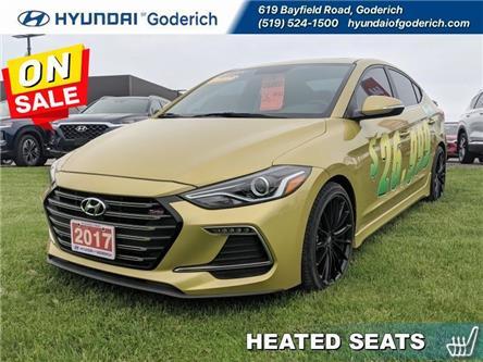2017 Hyundai Elantra Sport Tech (Stk: 70222) in Goderich - Image 1 of 14