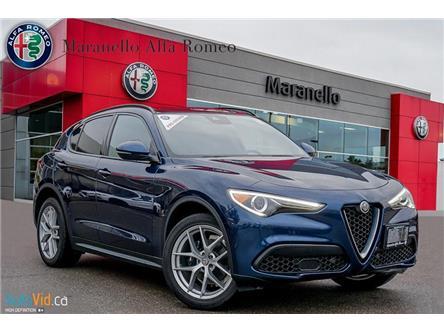 2018 Alfa Romeo Stelvio ti (Stk: P87) in Vaughan - Image 1 of 21