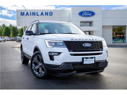 2018 Ford Explorer Sport (Stk: P6383) in Vancouver - Image 1 of 25