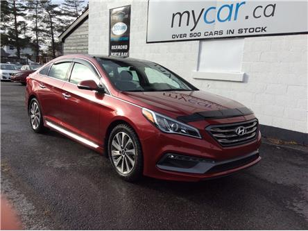 2016 Hyundai Sonata Sport Tech (Stk: 191769) in North Bay - Image 1 of 21