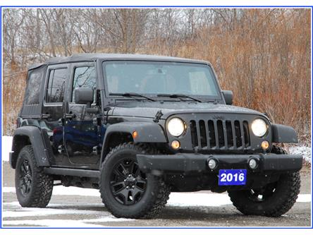 2016 Jeep Wrangler Unlimited Sport (Stk: P59531A) in Kitchener - Image 1 of 15