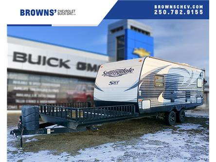 2014 Keystone Springdale Toy Hauler - 21 ft. (Stk: T19-471AA) in Dawson Creek - Image 1 of 14