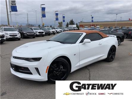 2018 Chevrolet Camaro 1LT|2.0L|CONVERTIBLE|BLUETOOTH| (Stk: 286456A) in BRAMPTON - Image 1 of 17