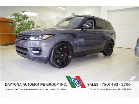 2017 Land Rover Range Rover Sport SUPERCHARGED V8 DYNAMIC STEALTH PACKAGE! (Stk: 5231-1) in Edmonton - Image 1 of 23