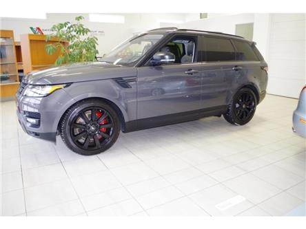 2017 Land Rover Range Rover Sport SUPERCHARGED V8 DYNAMIC STEALTH PACKAGE! (Stk: 5231-1) in Edmonton - Image 2 of 23