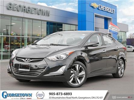 2014 Hyundai Elantra Limited (Stk: 30510) in Georgetown - Image 1 of 27