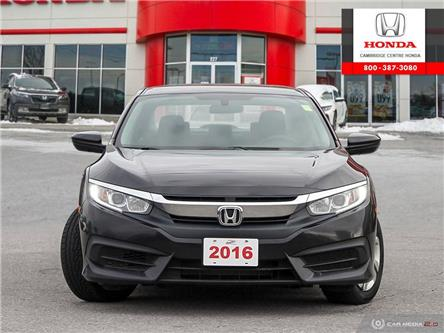 2016 Honda Civic LX (Stk: 20053A) in Cambridge - Image 2 of 27