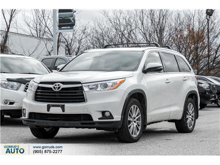 2016 Toyota Highlander XLE (Stk: 342203) in Milton - Image 1 of 5
