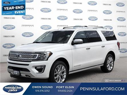2019 Ford Expedition Max Platinum (Stk: 19EP04) in Owen Sound - Image 1 of 27