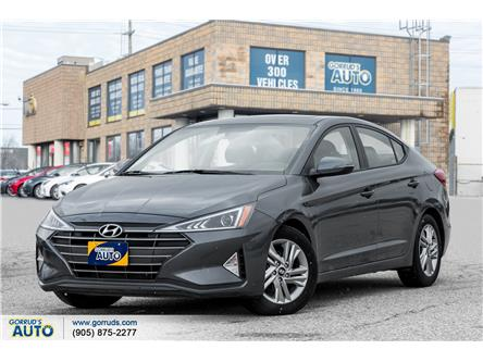 2019 Hyundai Elantra Preferred (Stk: 829482) in Milton - Image 1 of 20