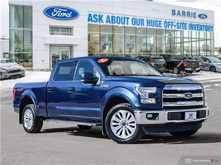 2016 Ford F-150 King Ranch (Stk: T1598A) in Barrie - Image 1 of 27