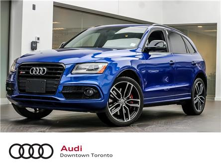 2017 Audi SQ5 3.0T Dynamic Edition (Stk: P3607) in Toronto - Image 1 of 22