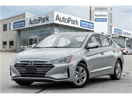 2020 Hyundai Elantra Preferred w/Sun & Safety Package (Stk: ) in Mississauga - Image 1 of 19