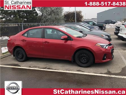 2014 Toyota Corolla  (Stk: P2489A) in St. Catharines - Image 1 of 5