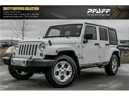 2014 Jeep Wrangler Unlimited Sahara (Stk: LC2009A) in London - Image 1 of 17