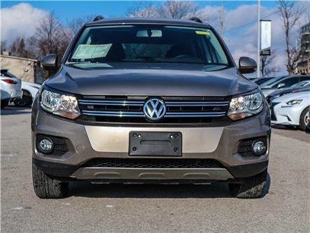 2015 Volkswagen Tiguan Comfortline (Stk: 12618G) in Richmond Hill - Image 2 of 22