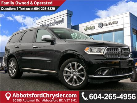 2019 Dodge Durango Citadel (Stk: AG0985) in Abbotsford - Image 1 of 26