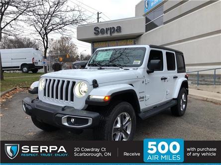 2020 Jeep Wrangler Unlimited Sahara (Stk: 204043) in Toronto - Image 1 of 15