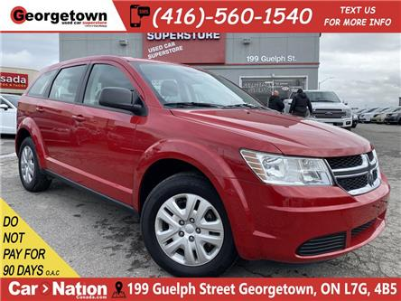 2017 Dodge Journey Canada Value Pkg  ONLY 26KMS   BLUTOOTH PUSH START (Stk: P12825) in Georgetown - Image 1 of 26