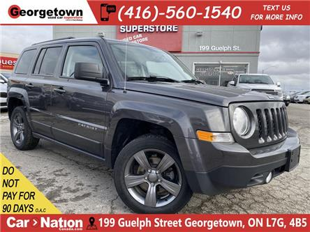 2015 Jeep Patriot High Altitude|LEATHER| ROOF|HTD SEATS |FOGS|ALLOYS (Stk: P12082B) in Georgetown - Image 1 of 24