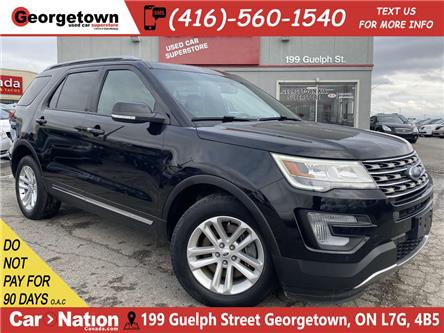 2017 Ford Explorer XLT | LEATHER | NAVI | ROOF | BU CAM | 7 PASS|ROOF (Stk: P12877) in Georgetown - Image 1 of 33