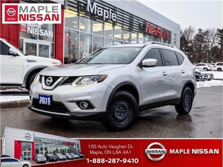 2015 Nissan Rogue SL AWD|GPS|Around View Camera|Push Start|Panoramic (Stk: LM444) in Maple - Image 1 of 25
