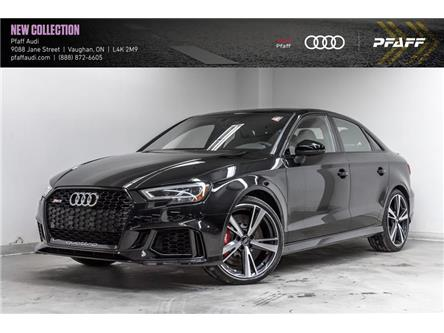 2019 Audi RS 3 2.5T (Stk: T17376) in Vaughan - Image 1 of 22