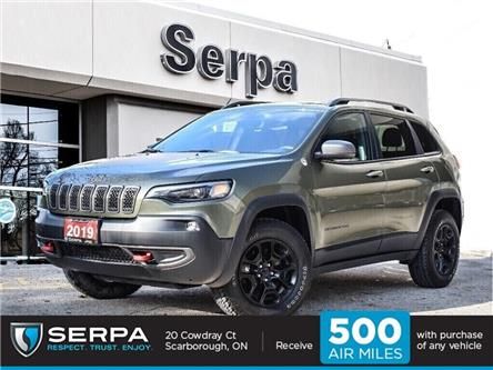 2019 Jeep Cherokee Trailhawk (Stk: P9196) in Toronto - Image 1 of 26