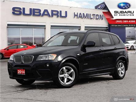 2014 BMW X3 xDrive28i (Stk: U1435A) in Hamilton - Image 1 of 26