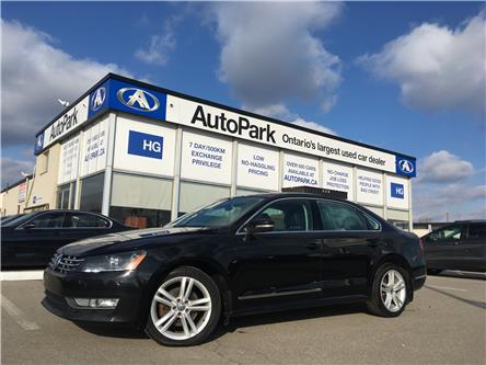 2014 Volkswagen Passat 2.0 TDI Highline (Stk: 14-23860) in Brampton - Image 1 of 25
