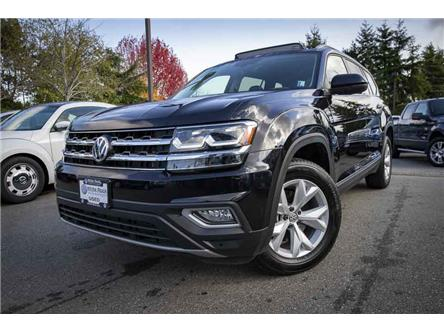 2019 Volkswagen Atlas 3.6 FSI Highline (Stk: VW1006) in Vancouver - Image 1 of 17