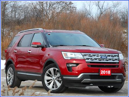 2018 Ford Explorer Limited (Stk: 150990) in Kitchener - Image 1 of 21